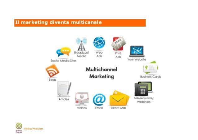 Il marketing diventa multicanale  Stefano Principato
