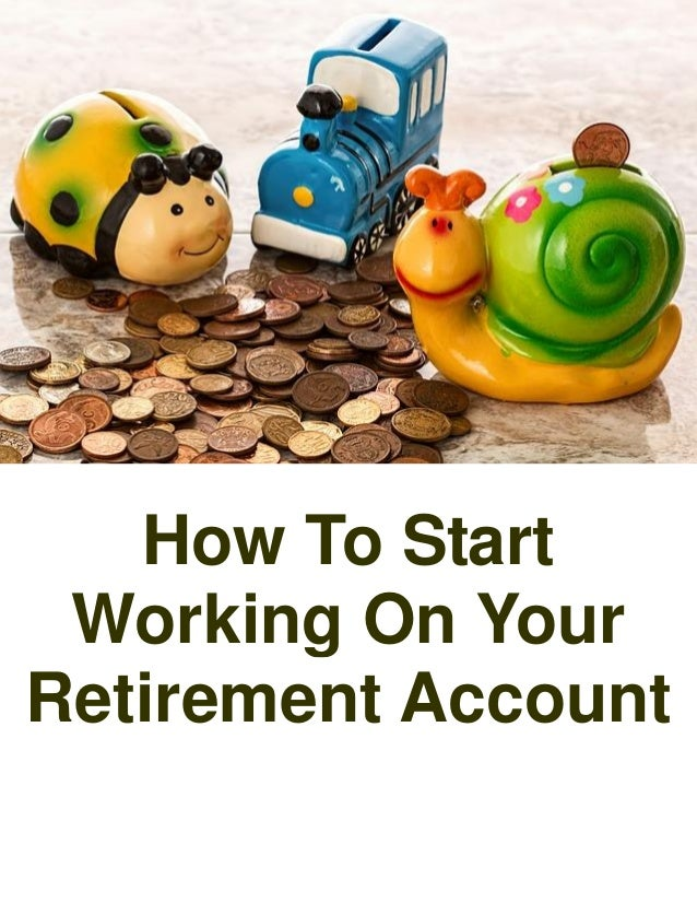 how to start your own retirement plan