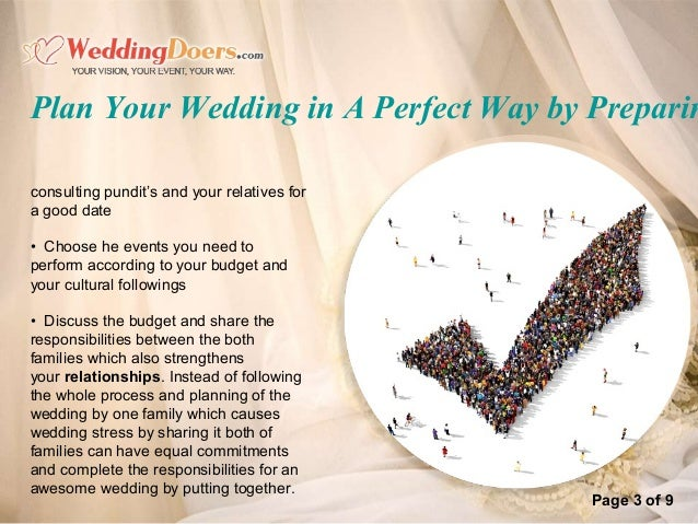plan your wedding in a perfect way by preparin 4
