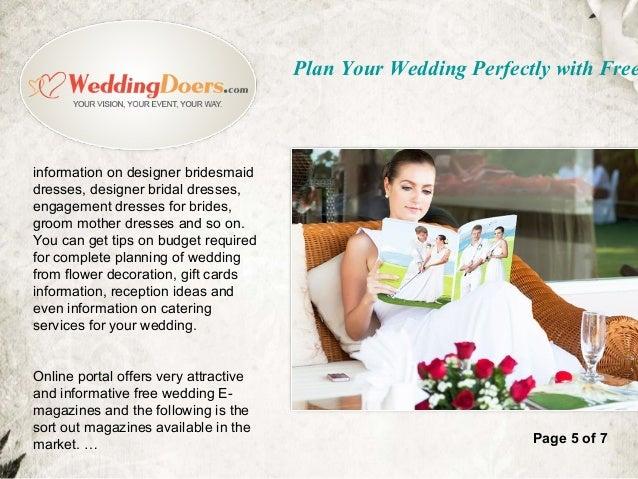 wedding magazine subscription free gift