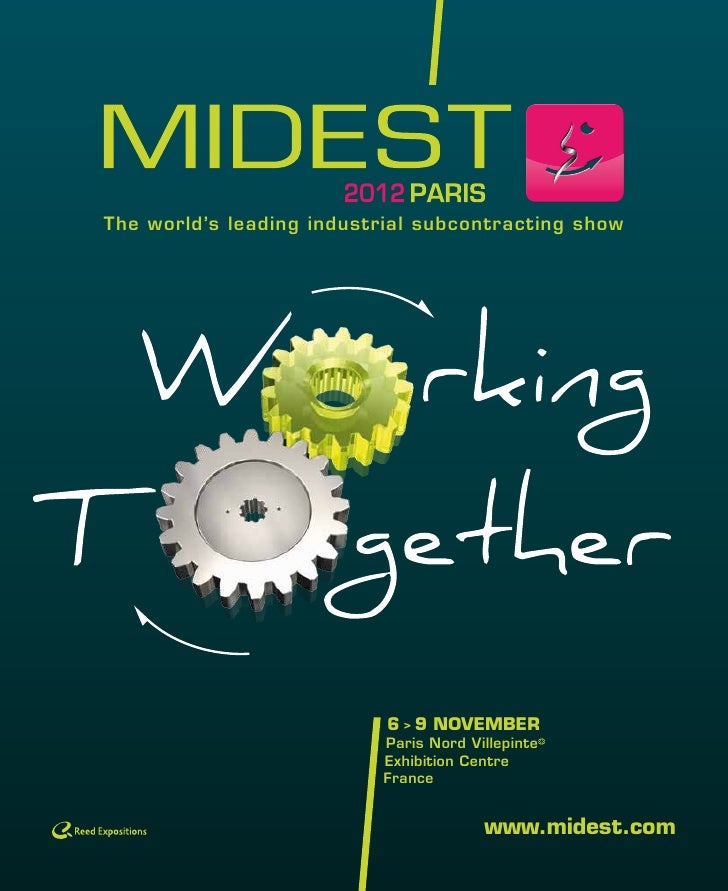 Theworld'sleadingindustrialsubcontractingshow                           6 > 9 NOVEMBER                          Paris...