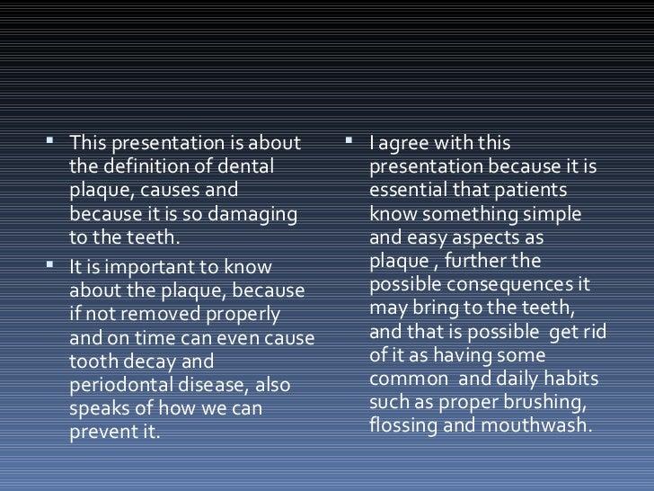 Plaque dental - Plaque de finition ...