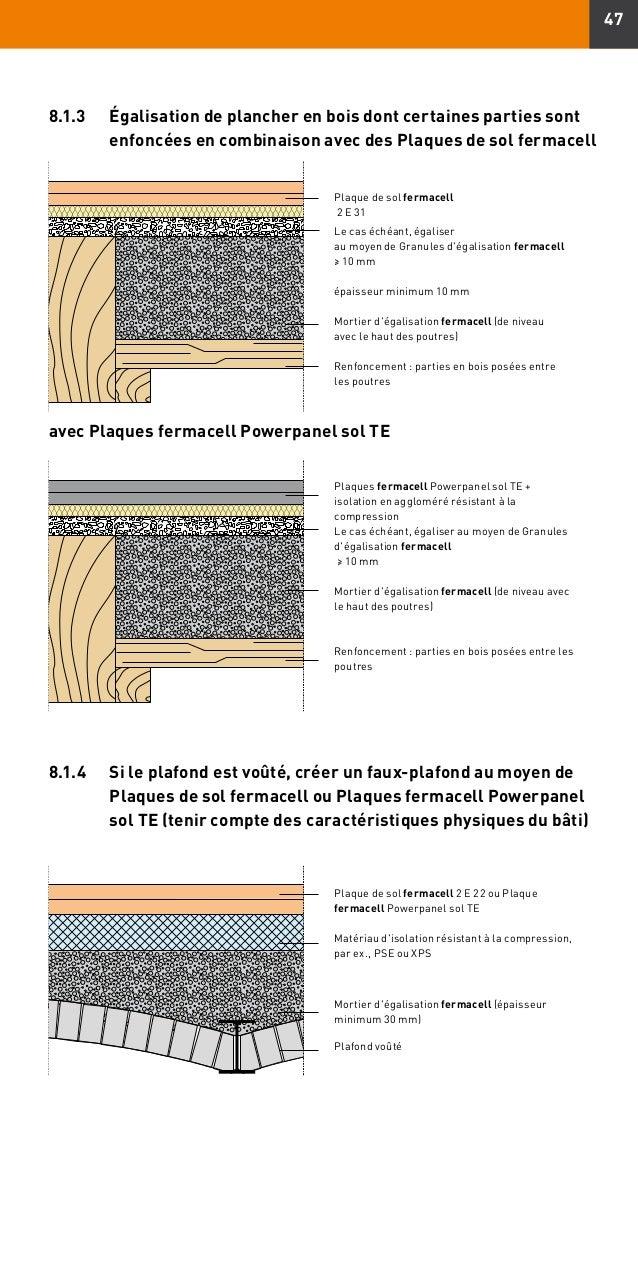 Plaques de sol fermacell guide de for Plaque de sol fermacell prix