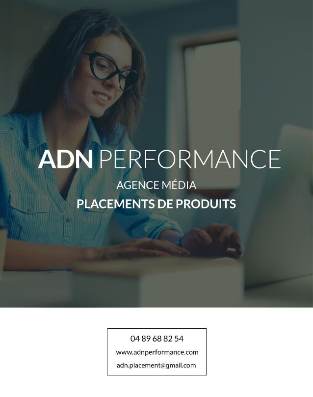 Plaquette ADN Performance