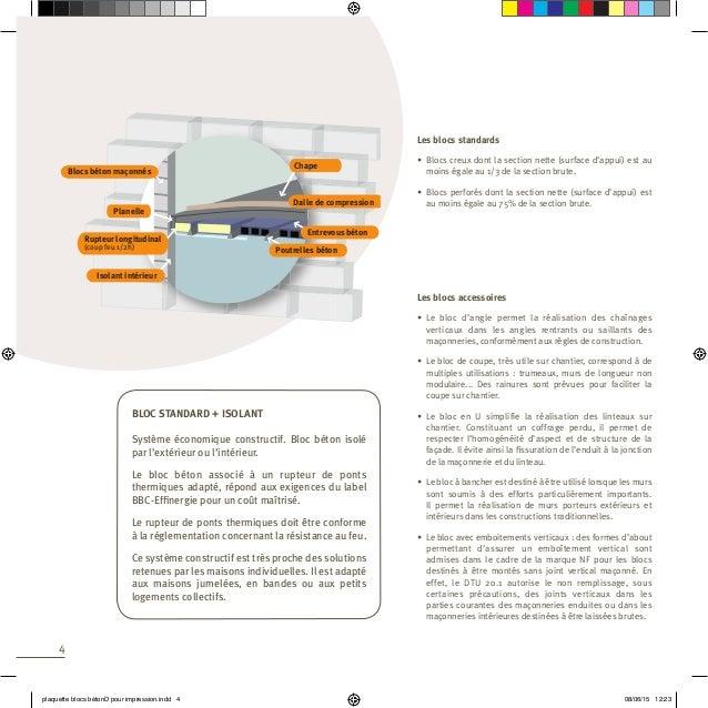 plaquette brochure catalogue bloc hourdis planelle. Black Bedroom Furniture Sets. Home Design Ideas