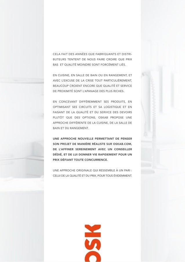 Oskab : Achetez votre cuisine, salle de bains & rangement sur Internet
