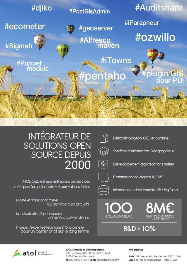 #ozwillo #pentaho #djiko #iParapheur #Sigmah #ecometer #PostGisAdmin #Alfresco maven #iTowns #Auditshare #plugin GIS pour ...