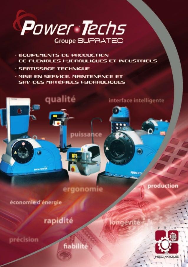 Création Vue de Face SAS TWO P - 04 70 05 05 10 - Groupe Supratec • V1.03.12 - POWD01 • Crédits Photos : Groupe Supratec.