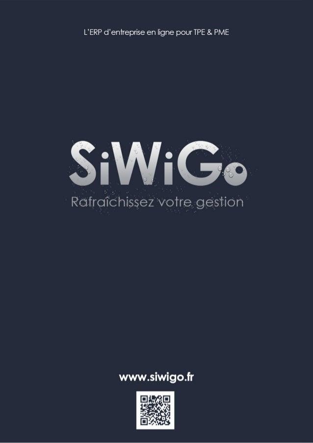 Plaquette de presentation generale de SiWiGo