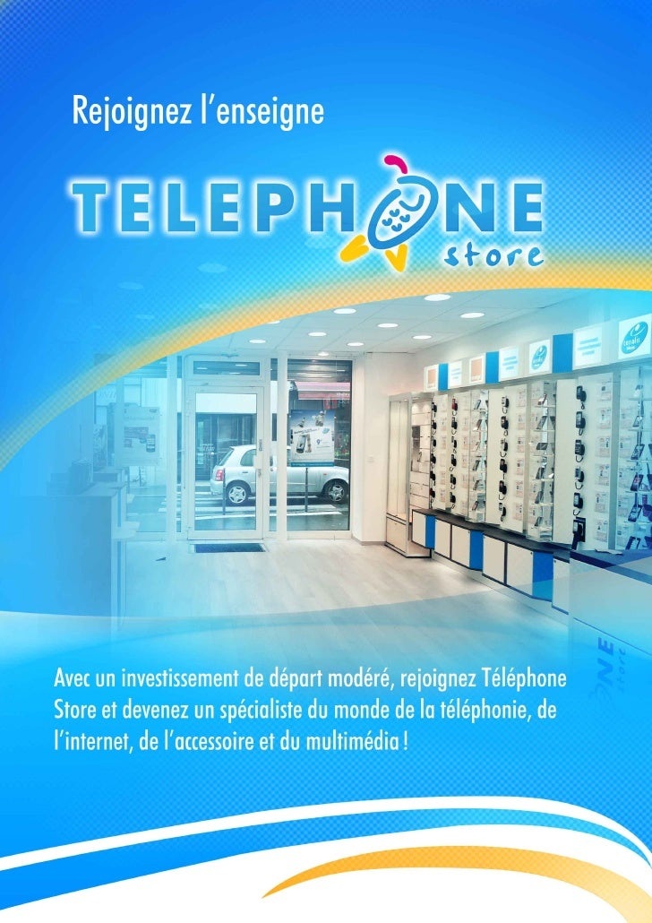 Plaquette Telephone-Store