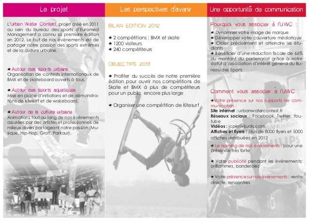 '                Le projet                             Les perspectives d'avenir            Une opportunite de communicati...