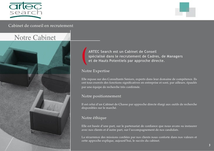 Plaquette artec search last version laurent - Cabinet de recrutement retail mode luxe ...
