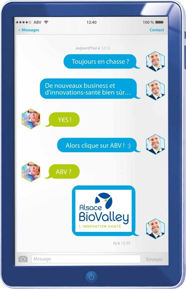 Plaquette présentation Alsace BioValley