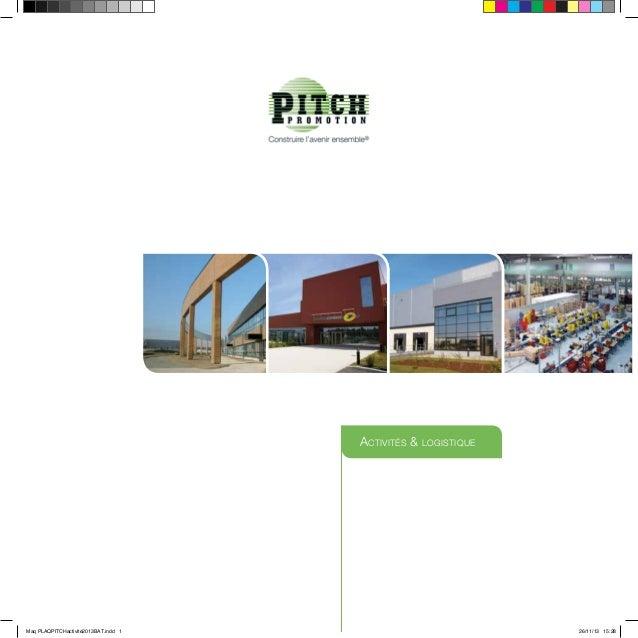 Activités & logistique Maq PLAQPITCHactivite2013BAT.indd 1 26/11/13 15:28