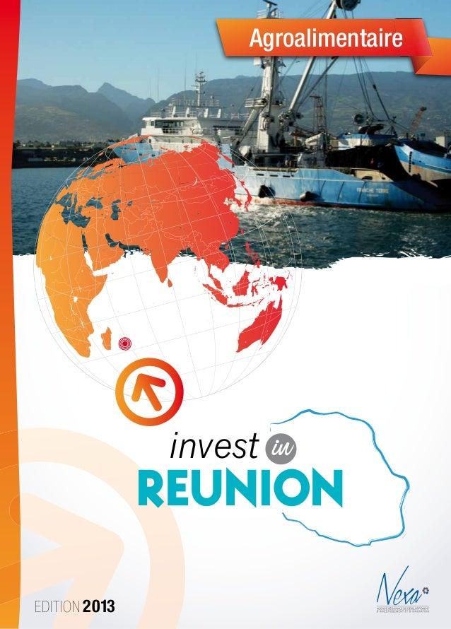 Edition 2013Agroalimentaireinvest inReunionCharte Graphique Nexa