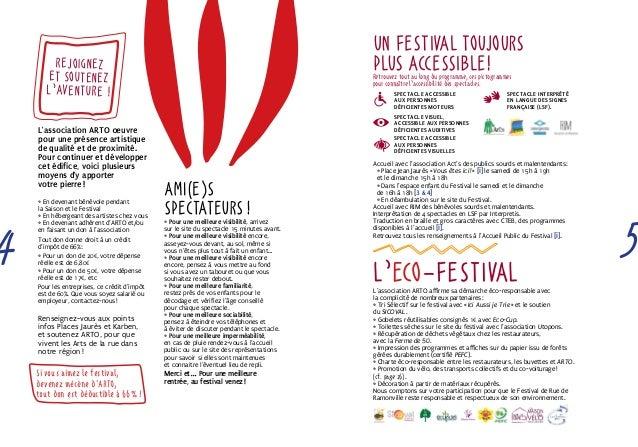 Un Festival toujours  plus accessible!  Retrouvez tout au long du programme, ces pictogrammes  pour connaître l'accessibil...