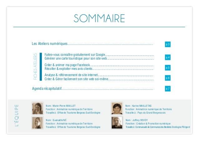 Ateliers numériques Pays de Bergerac_automne2014 Slide 2