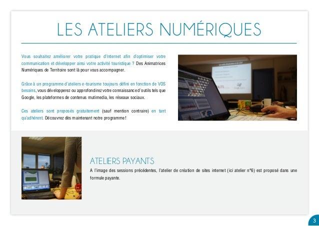 Ateliers numériques Pays de Bergerac_automne2014 Slide 3