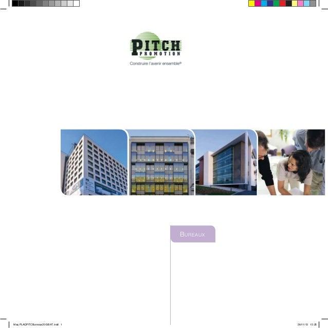 Bureaux Maq PLAQPITCBureaux2013BAT.indd 1 26/11/13 15:25