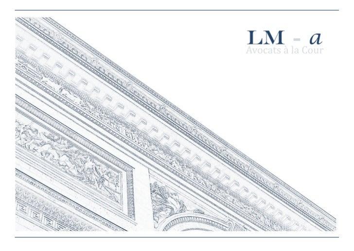 LM-a a été fondé en 2011 par Erwan Le Morhedec, après 11 ans d'expérience au sein des cabinets                            ...