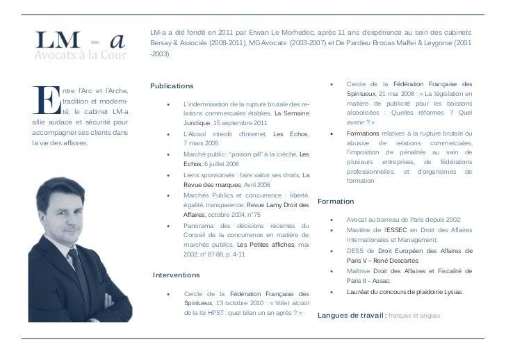 Plaquette LM-a - Le Morhedec Avocats Slide 2