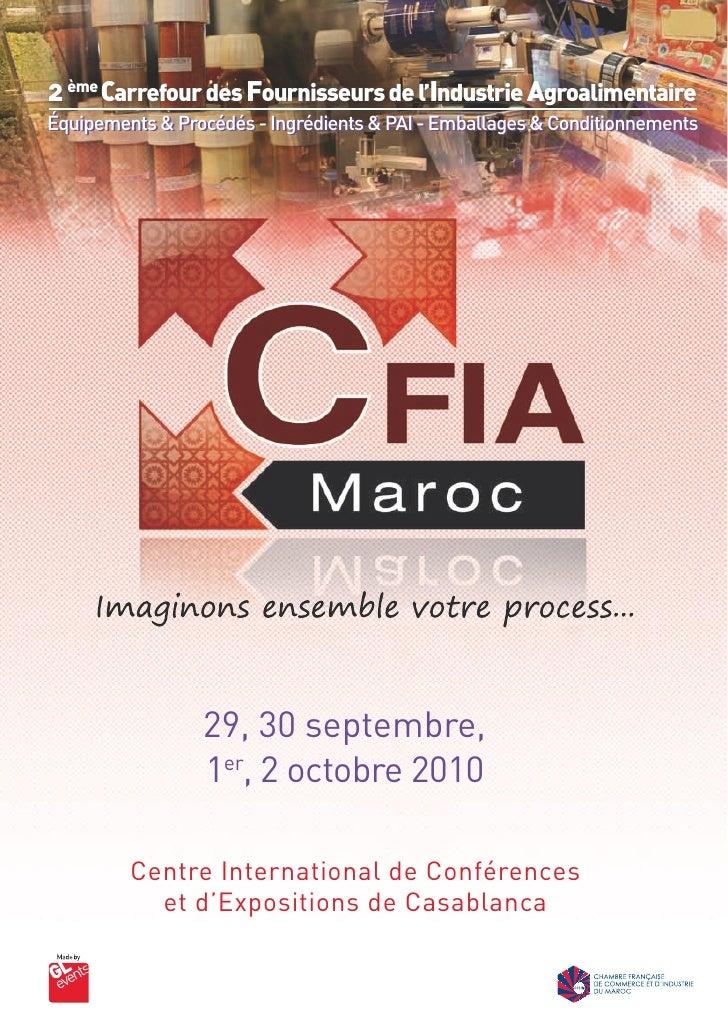 2 ème Carrefour des Fournisseurs de l'Industrie Agroalimentaire Équipements & Procédés - Ingrédients & PAI - Emballages & ...