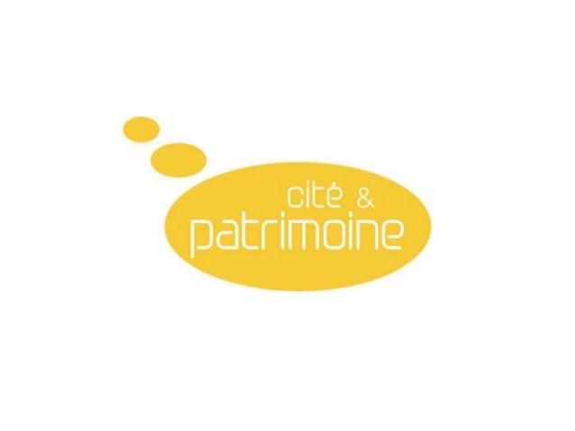 Plaquette Cité et Patrimoine