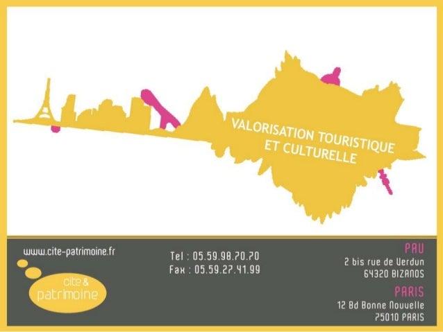 Plaquette Cité et Patrimoine Slide 2