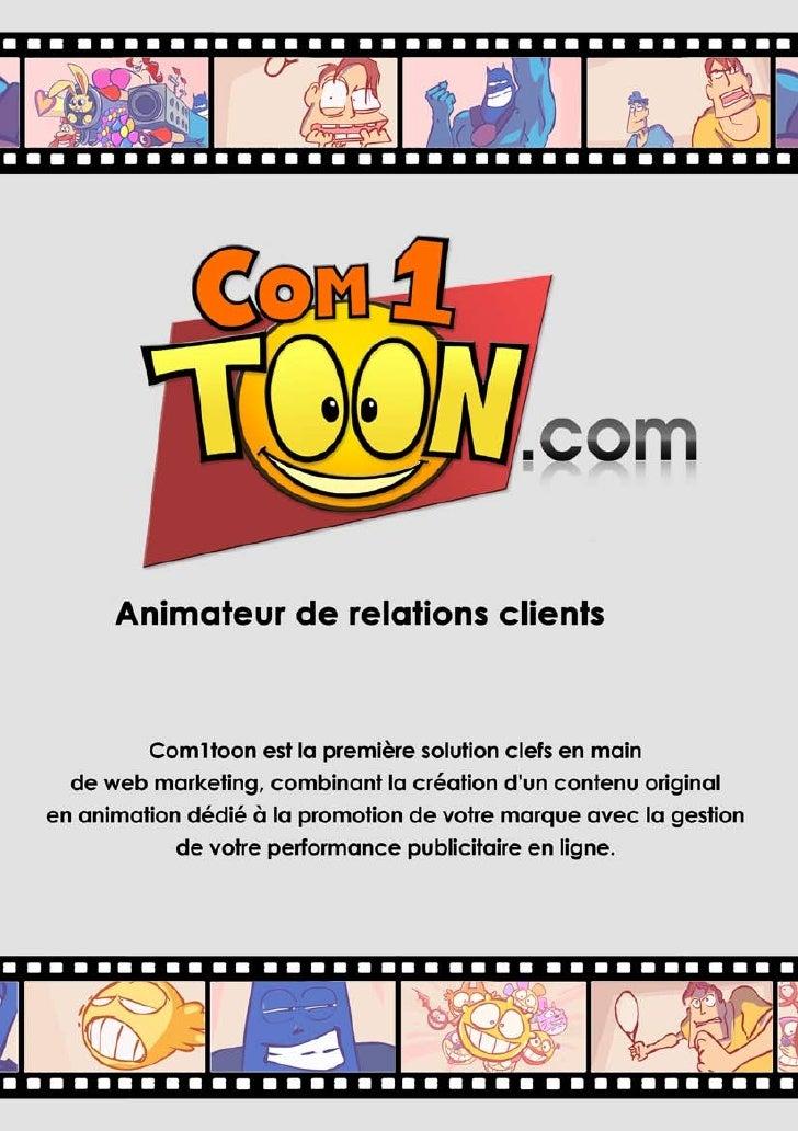 Plaquette Com1toon