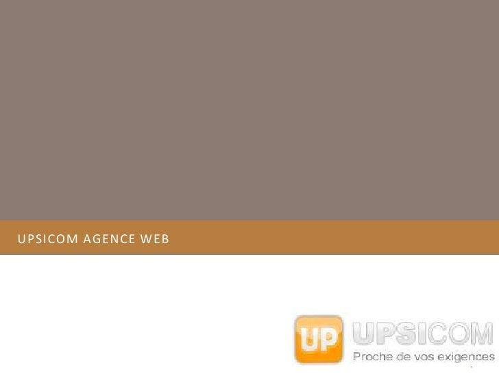 Upsicom agence web<br />