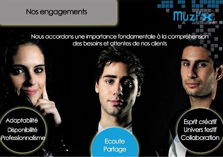 Muzi'x event - Plaquette commerciale Slide 3