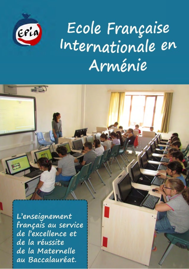 L'enseignement françaisauservice del'excellenceet delaréussite delaMaternelle auBaccalauréat.
