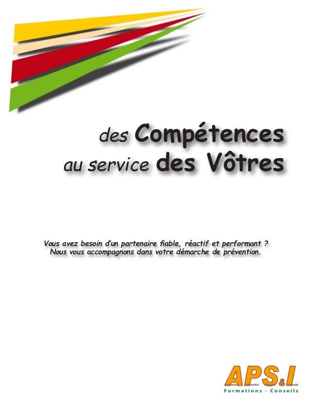 des Compétences au service des Vôtres Vous avez besoin d'un partenaire fiable, réactif et performant ? Nous vous accompagn...