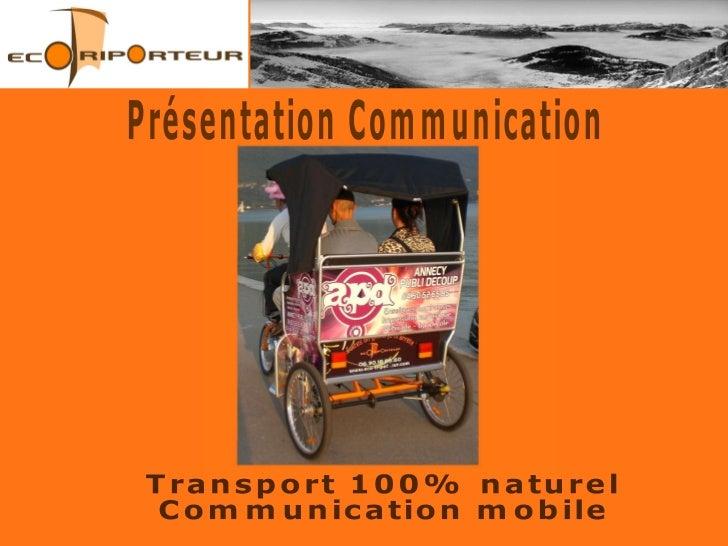 Eco-Triporteur Leasing