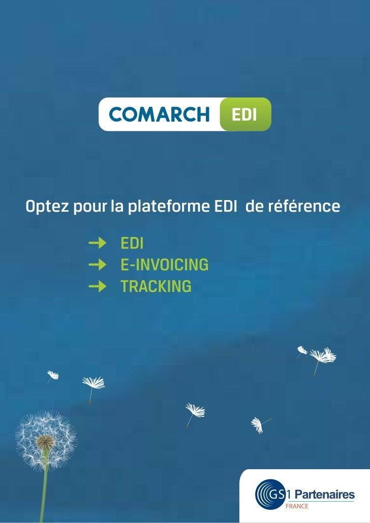 Plaquette edi comarch   plateforme edi et gestion documentaire