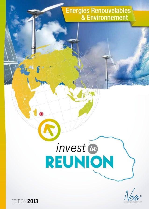 Edition 2013Energies Renouvelables& Environnementinvest inReunionCharte Graphique Nexa