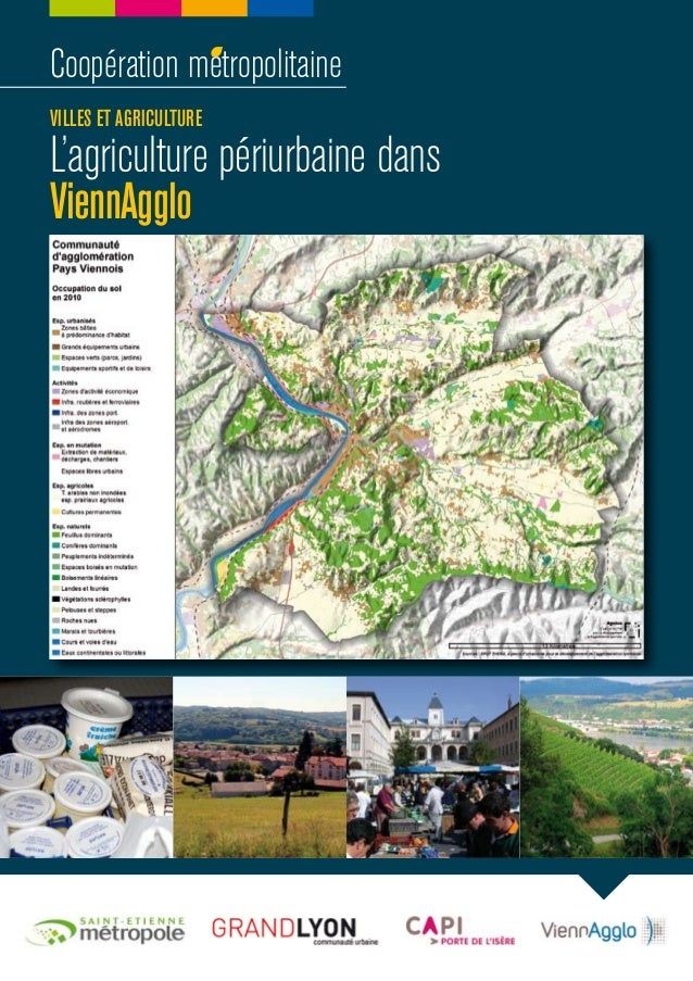 Coopération métropolitaineVILLES ET AGRICULTUREL'agriculture périurbaine dansViennAgglo