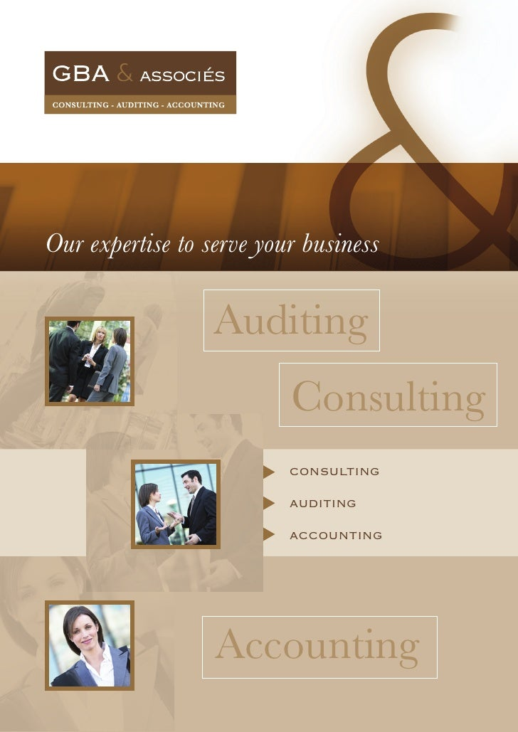 Our expertise to serve your business                    Auditing                           Consulting                     ...