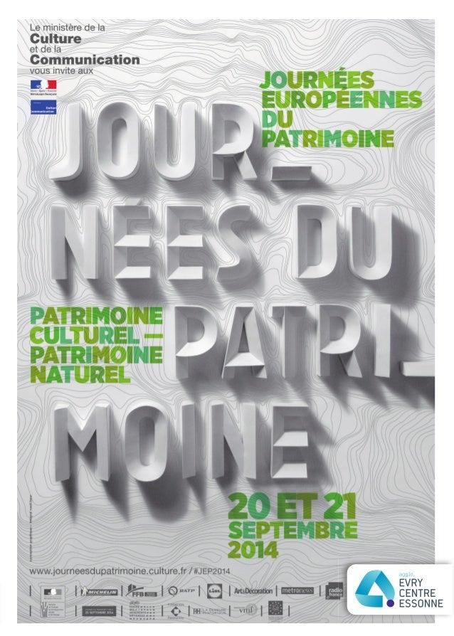 « Patrimoine culturel, patrimoine naturel », tel est le thème retenu cette année pour les Journées nationales du patrimoin...
