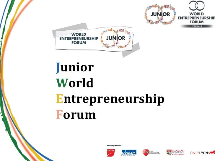 JuniorWorldEntrepreneurshipForum