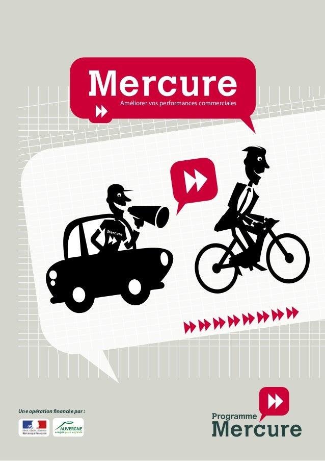 Programme Mercure International Améliorer vos performances commerciales Une opération financée par :