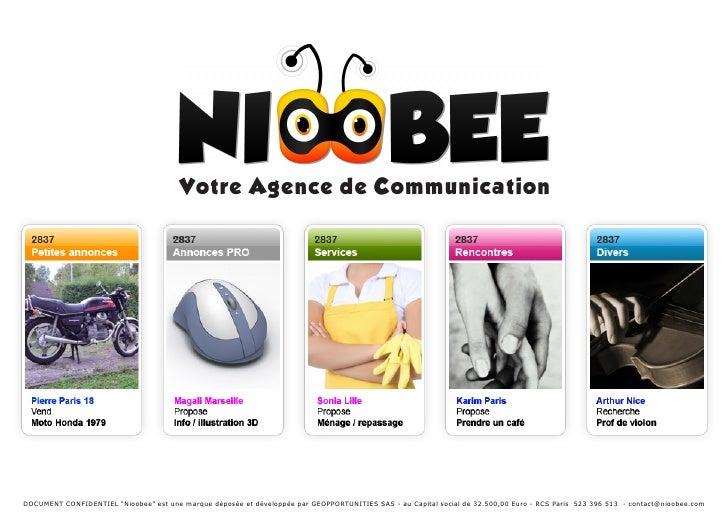 Présentation de Nioobee