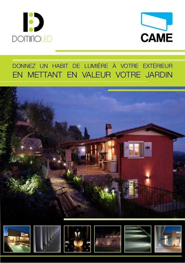 Connu Eclairage LED pour maison et jardin - CAME France GS57
