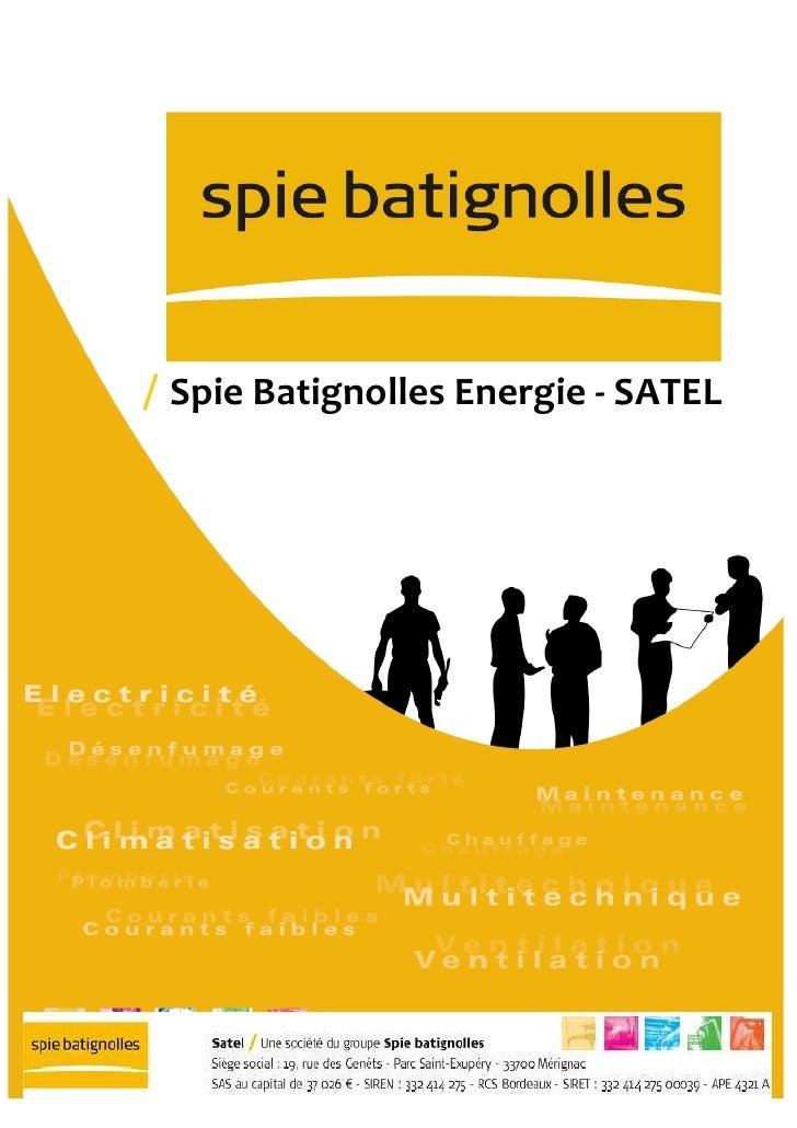 Spie Batignolles Energie - SATEL