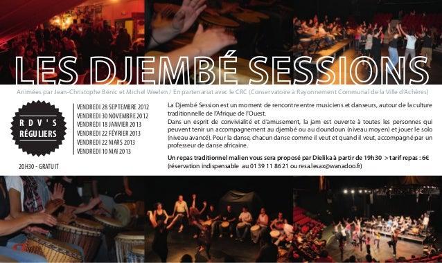 Le Sax - Achères - Programme de la saison 2012-2013