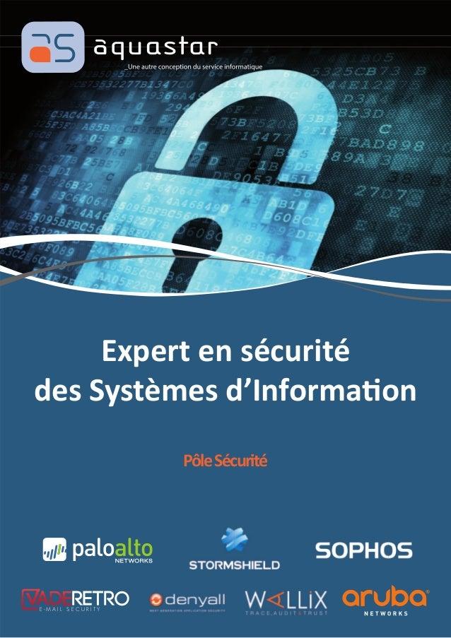 Expert en sécurité des Systèmes d'Informa on PôleSécurité E - M A I L S E C U R I T Y