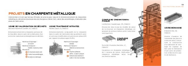 Plaquette Bureau Etudes Structures Sg Structural Modeling