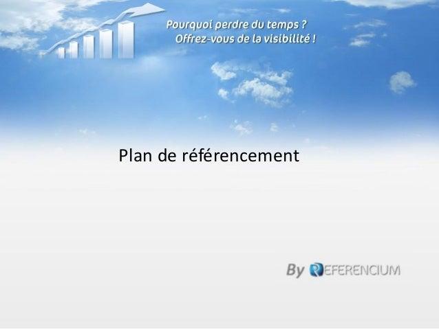 Plan de référencement