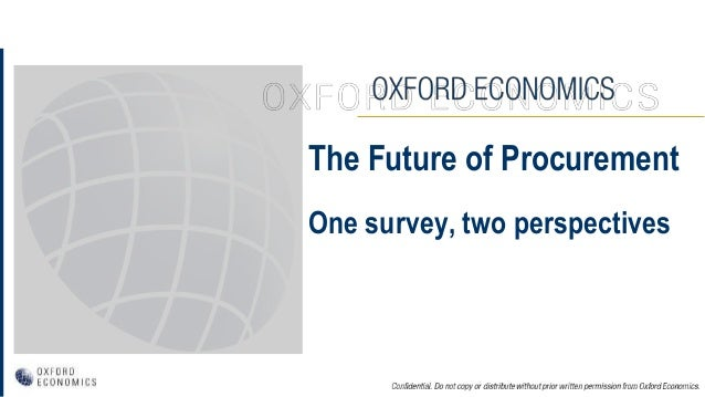 The Future of Procurement One survey, two perspectives