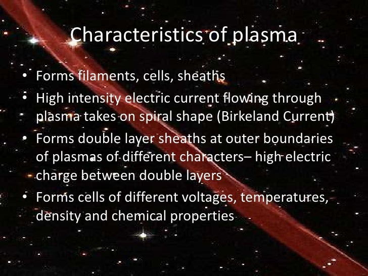 Plasma - the 4th state of matter